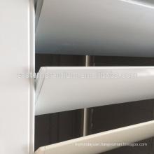 hot sale white elagance durable design aluminum window shutters