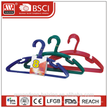 Plastic clothes hanger,recycled material clothes hanger(8pcs)