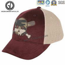 2016 New Design Camo Printed Charpie Trucker Hat with Embroidery