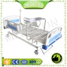ABS 3 funktioniert manuelles Krankenhausbett, mit Esstisch