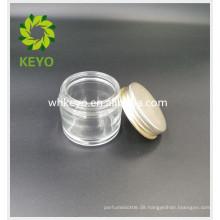 70g Klarglas mit Deckel für Gesichtscreme Schlafmaske Gel kosmetische leere Glas