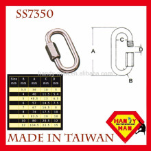 Marine Deck Hardware Stainless Steel Triangle Quick Link