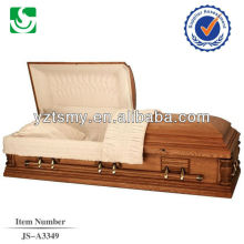 Classic American style solid wood wholesale handle for casket