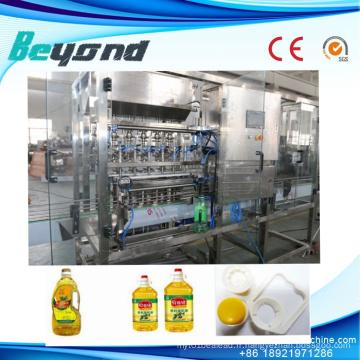 Machine de capsulage de remplissage d'huile de cuisson comestible
