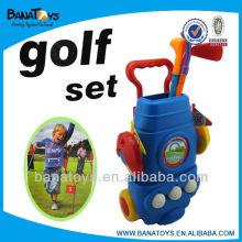 Mini golf juego de pelota de golf conjunto de golf
