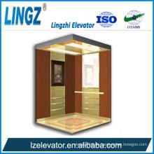 Villa Aufzug mit Holz Radierung