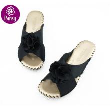Stiefmütterchen Komfort Schuhe Super Licht und Antibakterium Seide materiell Indoor Hausschuhe