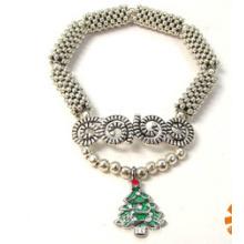 Jóias de natal / pulseira de natal / árvore de natal (xbl13142)