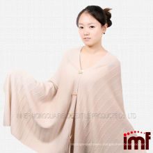 Wholesale handmade crochet knitted pattern poncho blanket
