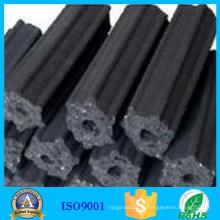 Высокая производительность черный шестигранник Stick барбекю углерода