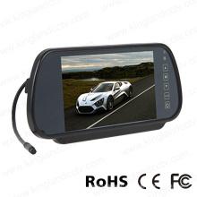 7inch LCD de pantalla panorámica del coche espejo del monitor con el botón táctil
