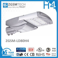 80W High Lumen 5 Year Warranty Luz de calle solar LED