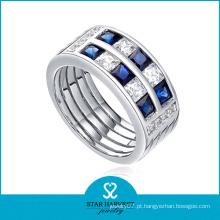 Largo anel de jóias de safira para venda (sh-r0063)