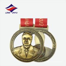 Zinc Alloy 3D folk art style nice fashion metal rounded Medal