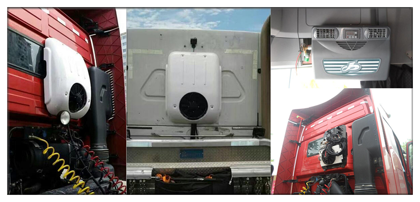 battery powered air conditioner for truck