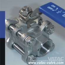Sw&Bw Three Pieces Floating&Trunnion Mounted Cl1500 F316&F304 Ball Valve