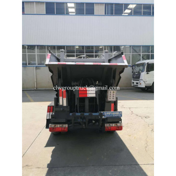 Rear Hang Diesel Hydraulic Compressed Type Garbage Truck