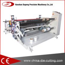 Filmschneider Aufwickler Maschine mit Rundmesser / Gerade Messer