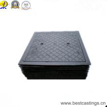 En124 D400 Heavy Duty Ductile Iron Square Manhole Cover