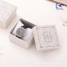 Personalizado caixas de papel de pulseira de apresentação de folha de prata por atacado china caixas de presente de jóias extravagantes