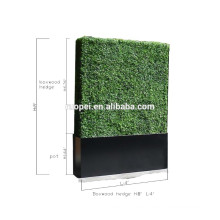 Outdoor-Privatsphäre Hedge Faux Buchsbaum Hecke