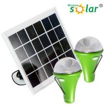 Mejores ventas de CE 3W recargable linterna Solar con batería de litio