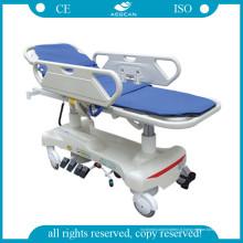 AG-Hs010 avec chariot à tablette en plastique pour lit d'hôpital économique (AG-HS010)