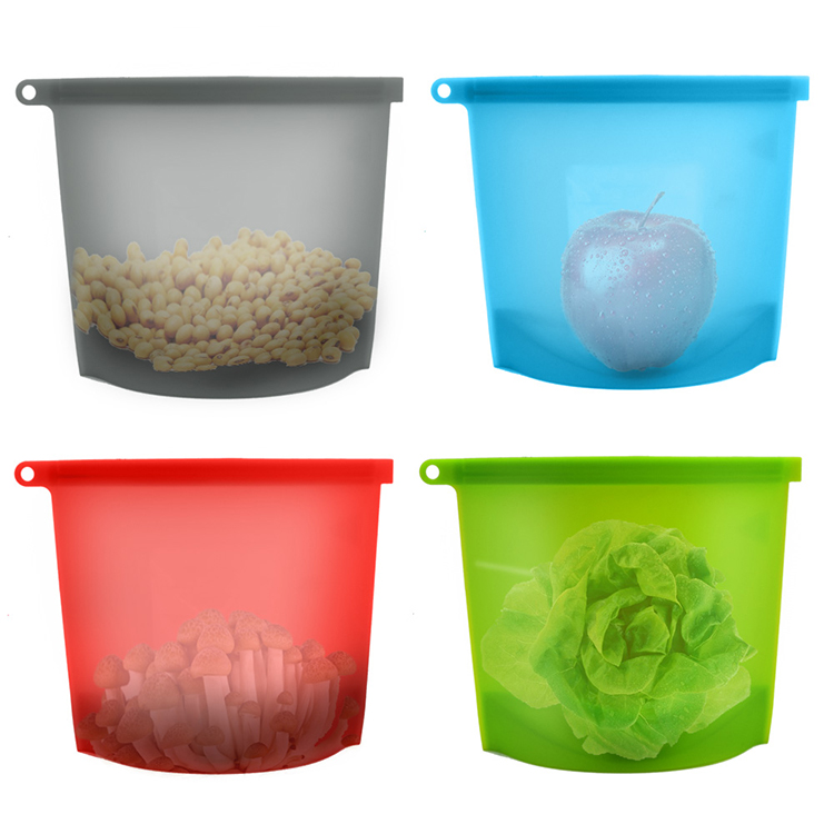 Silicone Fruits Storage Bag