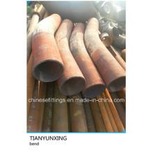 API 5L X52 Curvatura de tubo de tratamento térmico com tangente