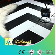 12.3mm E0 HDF AC4 Embossed Beech Waxed Edged Laminate Floor