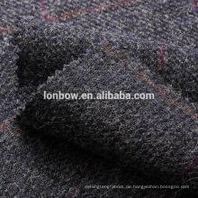 Dunkelblaue Woll-Tweedstoff-Overcheck-Fensterscheibe für Sportmantel
