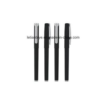Matte Rubber Gel Pen with Cap China Wholesale Lt-L452