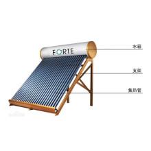 Chauffe-eau solaire de 145 litres en Chine