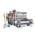 1500 mm plastic reliëffilm extrudermachine