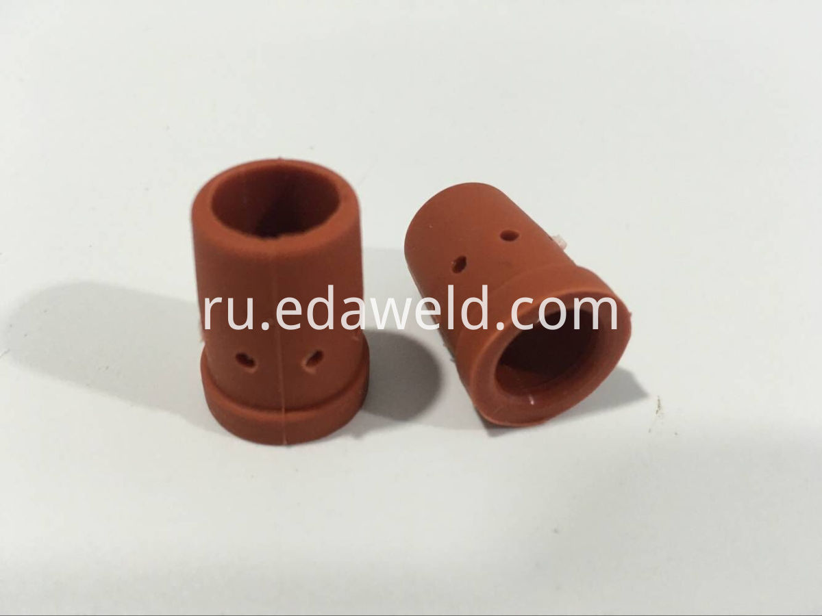 P350 Gas Diffuser Red Rubber