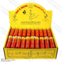 Hohe Qualität Quick Light 33mm Runde Fham EL Medina Holzkohle für Shisha Shisha