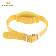 13.56MHZ MIFARE Ultralight Nylon RFID Wristband