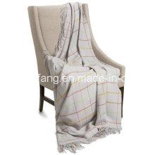 Manta de lana de lana escocesa nueva y pura