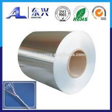 Hoja de cable de aluminio
