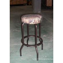 wood bar stool made in China.