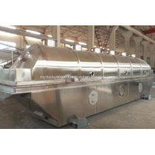 Fluid drying bed machine for soybean meal
