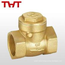 1 2 4 inch swing cw617n brass check valve / brass non return valve