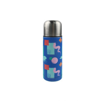 Vacuum thermal flask bullet thermos bottle with portable cup
