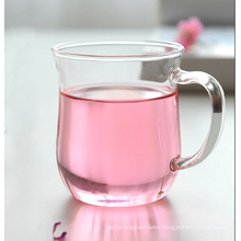 Tea Cup Glass Mug Water Cup (350ml)
