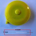 Atacado LOGOTIPO personalizado Portátil Régua Retrátil Chaveiro Fita Métrica de 60 polegadas / 150 cm régua de presente automático