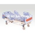(A-35) Cama de hospital manual de três funções com cabeça de cama ABS
