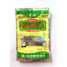 Plastic Standing Zipper Flavouring Packaging Bag, Condiment Packaging Pouch