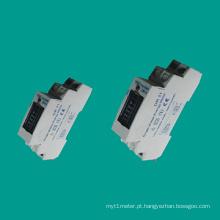 EDR11 medidor de eletricidade monofásica para trilho DIN