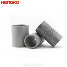 5 10 20 25 100 Micron Porous Powder Metal Sintered 316L Stainless Steel Fuel Oil  Filter Tube