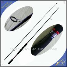 SPR028 graphite canne à pêche blanc canne à pêche weihai oem filature pôle